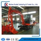 Xinchai&Yanmerのディーゼル機関を搭載する小型クローラー掘削機4ton
