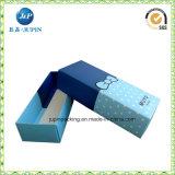 La vente en gros de papier Kraft personnalisée Boîte à bougies avec fenêtre claire (JP-Box019)