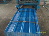 Tuile de toit enduite en métal de la feuille PPGI/PPGL de toiture de zinc d'ondulation
