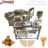 Свернутый ценой по прейскуранту завода-изготовителя конус мороженного сахара делая машину для сбывания