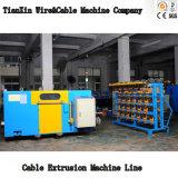 Cable de cobre de alta velocidad de la máquina de torsión
