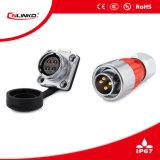 Il connettore del connettore Plug/4pin di CC del metallo 4pin può essere 3-5years usato