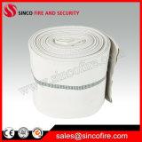 Mangueira da boca de incêndio de incêndio da lona de 8 polegadas com forro material do PVC