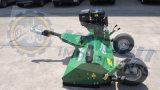 옆 바퀴를 가진 ATV 도리깨 잔디 깎는 사람의 자동적인 들기