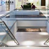 Sistema de pasamano del acero inoxidable del diseño moderno para la decoración del desván