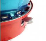 Al aire libre Camping Gas Windproof portátil plegable de la estufa estufa electrónica