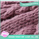 Il cavo di riscaldamento della manovella del ginocchio della Cina modella la coperta robusta del Knit