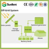 48V1kw weg Rasterfeld-Ausgangsvom solarinstallationssatz-Sonnenkollektor-Energie-Stromnetz