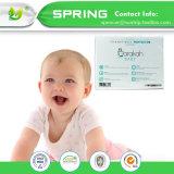 Antibakterielles Breathable Baby-ändernde Matte/Krippe-Matratze-Auflage/alle natürlich Baby-Matratze-Deckel