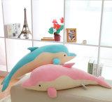 2017の熱い販売のプラシ天の動物のイルカの抱きしめる枕