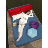 Самомоднейший тип сохраняет кровать софы ткани космоса многофункциональную мягкую складную