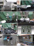 Het dubbele Plastiek van Hoofden dekt Roterende het Afdekken Machine voor Schoonheidsmiddelen (hc-50-2) af