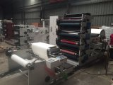 Flexographic Machine van de Druk voor de Kop 4color 1000mm van het Document