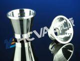 Macchina di rivestimento di alluminio della macchina/riflettore di rivestimento di colore dell'argento di vuoto della tazza del riflettore