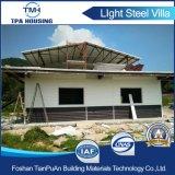 편리한 두 배 층 Prefabricated 강철 구조물 별장 집