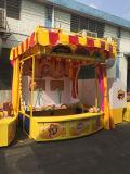 Cabina principal de los juegos del carnaval del baloncesto