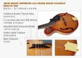 Prezzo all'ingrosso dell'arco di marca di Aiersi del mandolino attillato solido della parte superiore