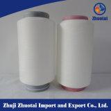 70150/144f Spandex de aire de hilo de poliéster cubierto de tejido Denim