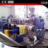 двухшнековый экструдер Co-Rotating Параллельное совмещение пластиковых гранул линии принятия решений