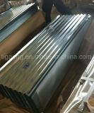 직류 전기를 통한 골함석 루핑 또는 클래딩 물자 또는 아연 입히는 지붕 장