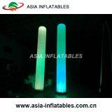Tubes gonflables de décoration de l'événement, gonflable Tusk cône d'éclairage