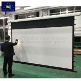 Экран под действием электропривода рамы аренда образования большой проект