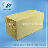 El rto de medios de intercambio de calor regenerador de cerámica de panal.