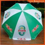 Fördernder im Freien faltender Strand-Regenschirm