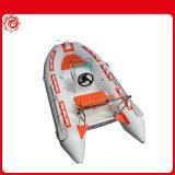 De lujo más reciente gran solarium Rib 680 inflables deporte acuático bote de fibra de vidrio con motor fuera de borda a la venta