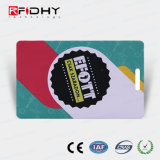 Tarjeta de papel del sacador Ntag203 RFID de Solt para el pago del boleto