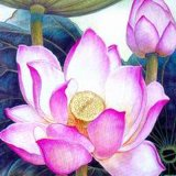 Artefacto de seda (Flor) - 2