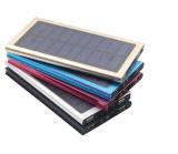 Ultra dünne bewegliche Solaraufladeeinheits-externe Batterie-Backup-ultra dünne Sonnenenergie-Aluminiumbank der Sonnenenergie-Bank-20000mAh