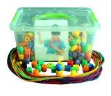 Brinquedos frisados dos blocos de apartamentos Desktop das crianças