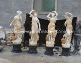 Четыре Сезона Бога мраморные скульптуры