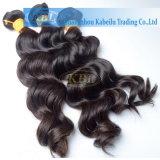 Человеческие волосы индейца высокого качества ранга 3A
