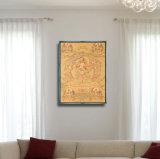 2017 neue Portrait-Ölgemälde-Wand-Kunst-Abbildung der Art-HD abstrakte für Hauptdekoration