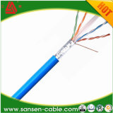 1000FT cabo LAN UTP de 4 pares de cobre sólido LSZH laranja cabo eletrônico CAT6