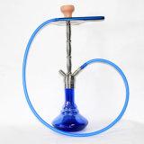 Zink-Legierungs-Huka-Schlauch-Flaschenglas-Filterglocke-Wasser-Rohre mini elektronische Cigarett Glaswasser-Rohr-Glaspfeifevaporizer-Huka Shisha