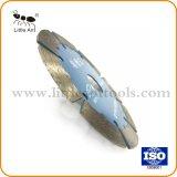 el diamante de 114m m vio la lámina con la buena agudeza para el corte reforzado del granito