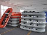 Liya un bateau de pêche gonflable de bateau de pêche de personne mini