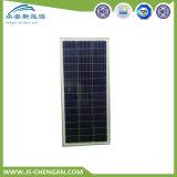 comitato solare del modulo solare policristallino 100W con 4 righe e 25 anni di corso della vita