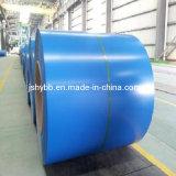 Material de construção de zinco médios quente laminados a frio revestidos de cor Prepainted PPGI bobina de aço galvanizado