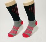 Venda por grosso de bambu masculina personalizado meias de desporto