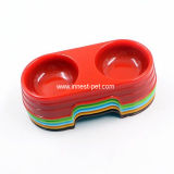 Ciotola d'alimentazione di plastica del cane dei prodotti dell'animale domestico del rifornimento dell'animale domestico