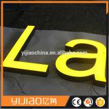 El alto canal modificado para requisitos particulares brillante de la cara de la resina de Frontlit de la dimensión de una variable redacta el LED