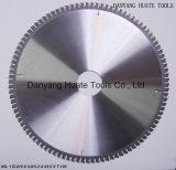 Tct la hoja de sierra de corte de aluminio, metal cuchilla de corte