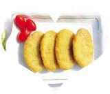 판매를 위한 선을 만드는 고기 햄버거 작은 파이