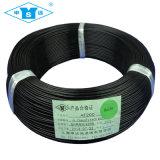 alambre 0.75m m de plata del Teflon del cable de 0.20m m 0.35m m 0.50m m