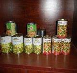 Récolte fraîche mélangé de légumes en conserve une excellente qualité