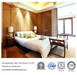 Mobília do quarto do hotel da boa qualidade com base de madeira (YB-WS-61)
